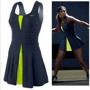 Nike Blue Green Tennis Dress Serena Williams